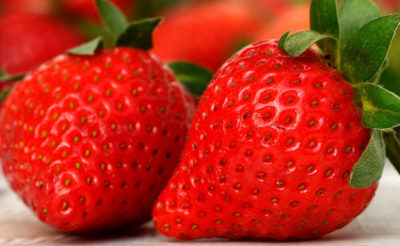 Home Delivery food service strawberries